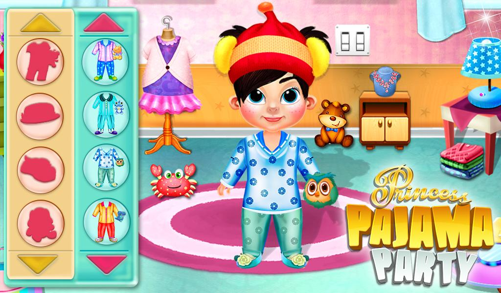 Princess Doll Pajama Party- screenshot