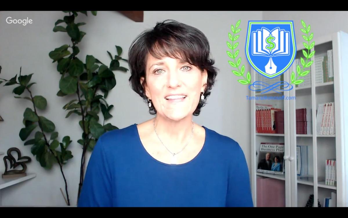 Tamara Monosoff Author to Income