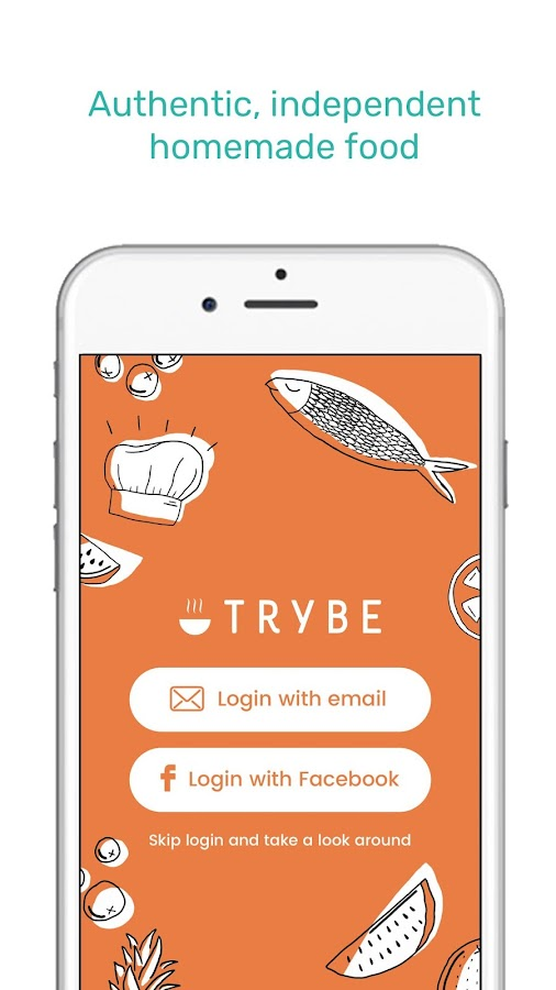 Trybe- screenshot