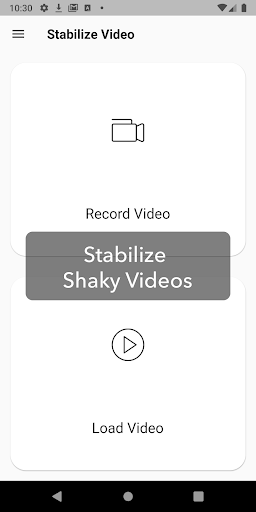 Deshake Video - Video Stabilization 1.0.1 screenshots 1
