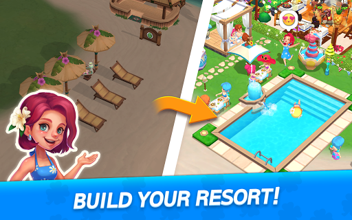 My Little Paradise : Resort Management Game android2mod screenshots 17