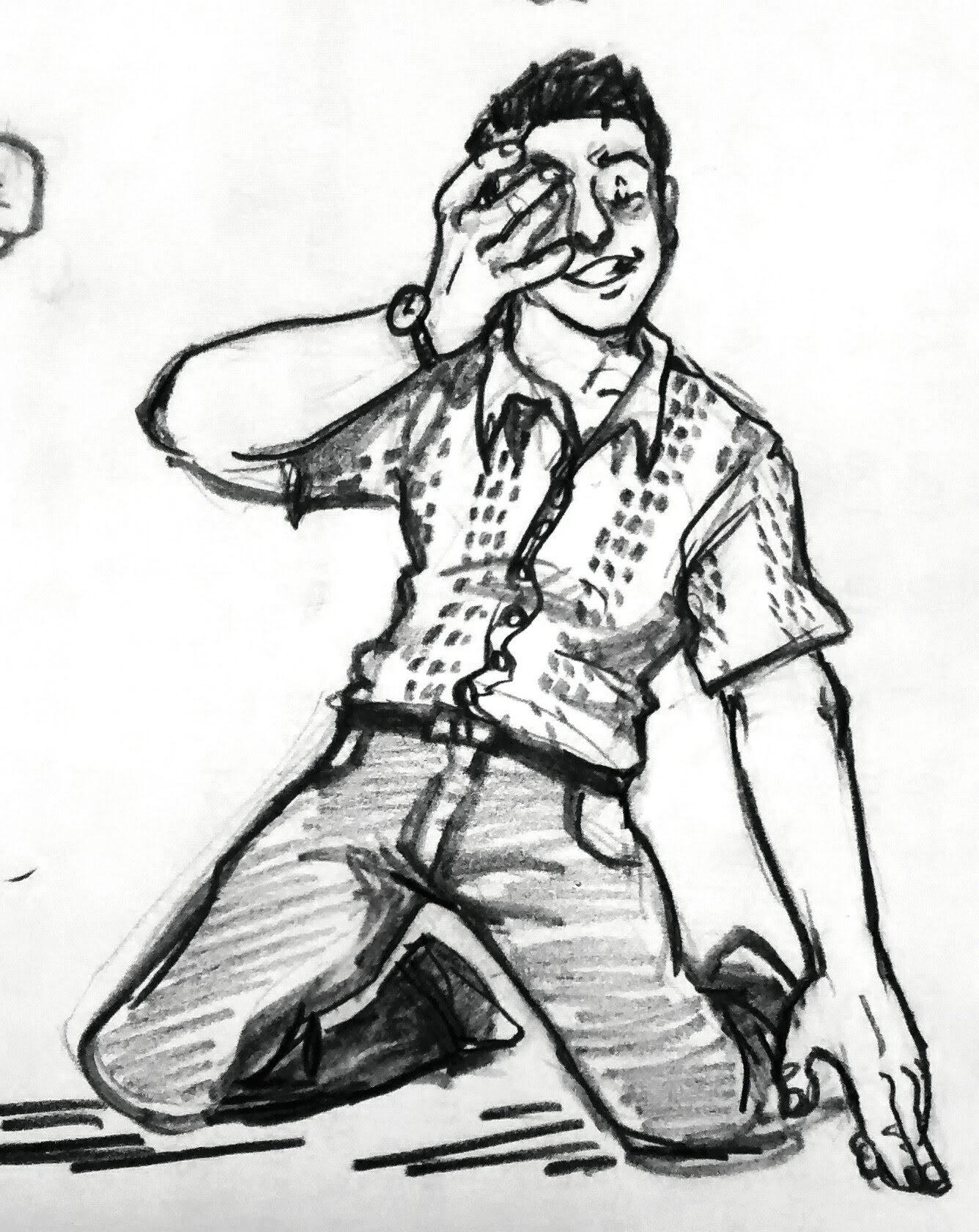 Flansburgh as John Wayne Gacy for Watchface