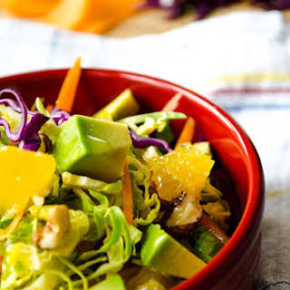 Tangy Brussels Sprout Salad.