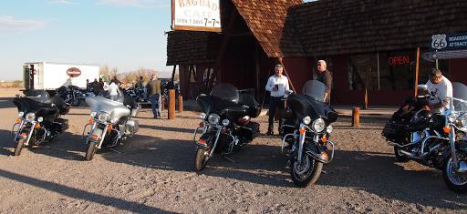 l'ouest américain à moto