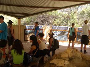 Photo: Am Eingang der Ngilgi Cave - hier gibt es die passende Aborigine-Geschichte erklärt