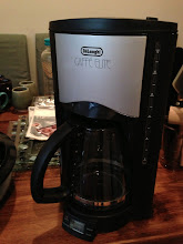 Photo: $20. DeLonghi Caffe Elite 12-cup coffee maker. http://www.livingdirect.com/DC76TA-DeLonghi-12-Cup-Cafe-Elite-Coffee-Maker/DC76TA,default,pd.html