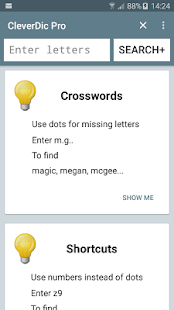 CleverDic Crossword Solver Pro- screenshot thumbnail