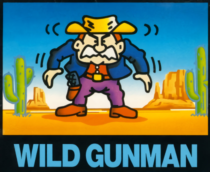 Wild Gunman (Cover Art)