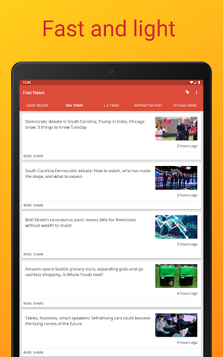 Fast News 3.5.5 Screenshots 14