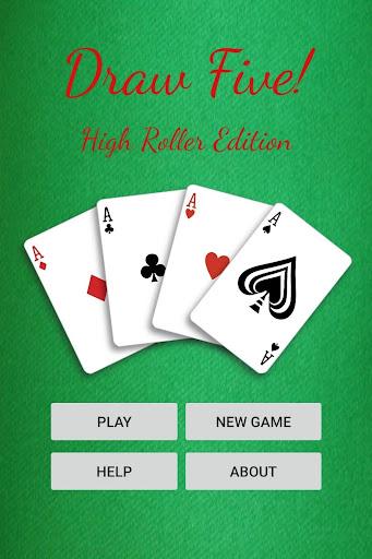 Draw Five! - Five Card Draw  screenshots 1