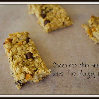 Chocolate Chip Muesli Bars