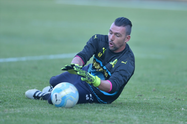 Wayne Sandilands during the Absa Premiership match between Mamelodi Sundowns and Highlands Park at Loftus Stadium on November 27, 2016 in Pretoria, South Africa.