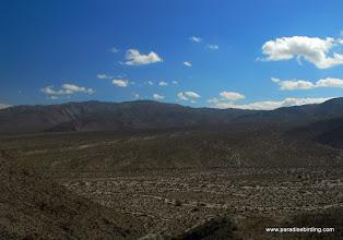 Photo: Expansive alluvial fan; Anza Borrego Desert State Park