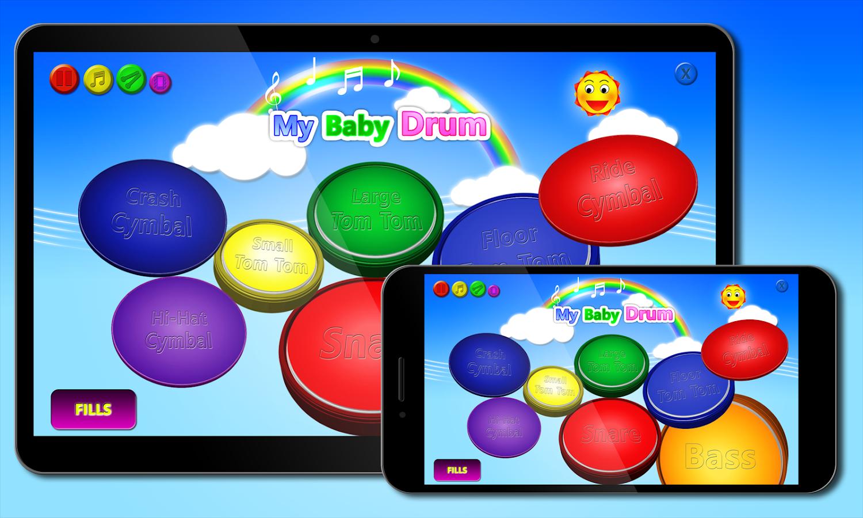 My baby Drum- screenshot