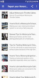 Reparar tu motocicleta 2