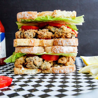 Fried Oyster Sandwich