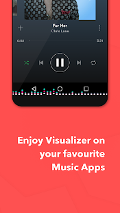 MUVIZ Navbar Music Visualizer Screenshot
