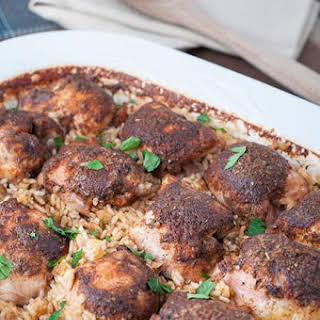 Baked Chicken Thighs With Rice Recipes.
