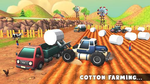 Cotton Farming: Harvester Simulator 2018 1.0 screenshots 8