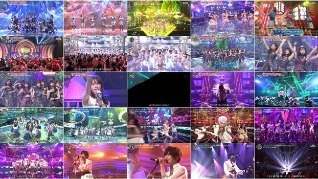 190713 (720p+1080i) AKB48 46G IZONE Part – 音楽の日 2019