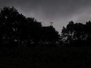 Photo: donker en  die regen....