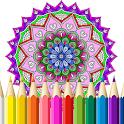 Free Mandala Coloring Book icon