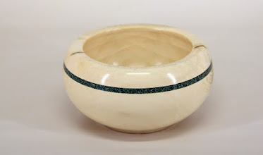 "Photo: Joe Stout 5 1/2"" x 3"" bowl [holly w/ Inlace]"