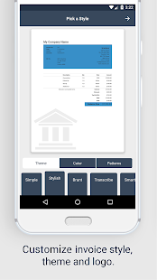 Invoice app: Estimate & invoicing on go for free - náhled