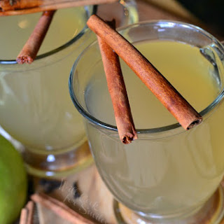 Crock Pot Mulled Green Apple Cider