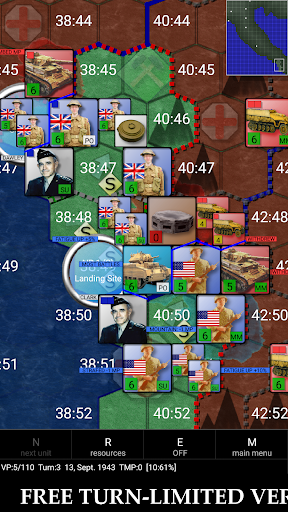 Télécharger Gratuit Allied Invasion of Italy 1943-1945 (free) mod apk screenshots 6