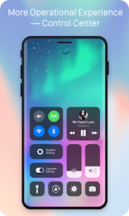 X Launcher Prime:Phone X Theme, IOS Control Center Screenshot