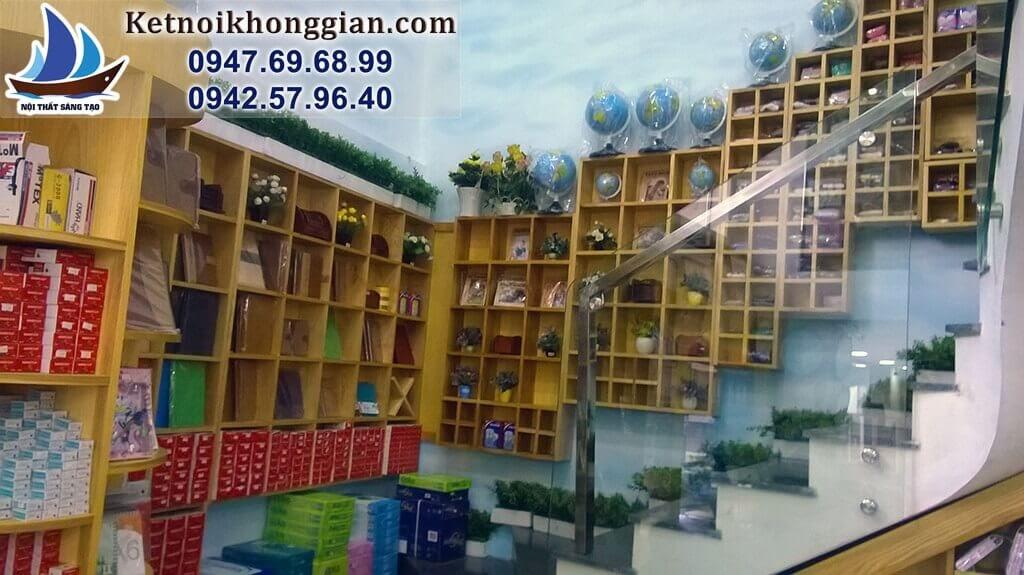 thiết kế nội thất nhà sách độc đáo
