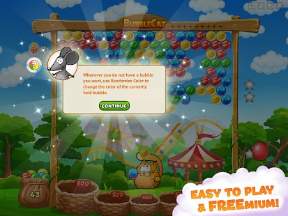 Bubble Cat Adventures: shoot and pop the bubbles!- screenshot thumbnail