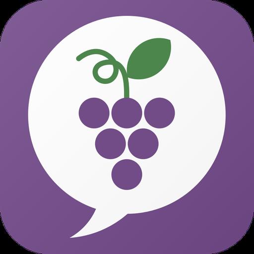 GrapeTalk - 無料のひまつぶしチャットトーク掲示板 社交 App LOGO-APP試玩