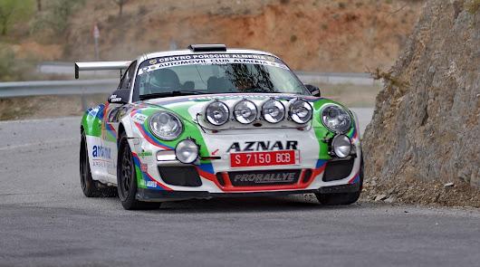 Aznar se impuso en el lIV Rallye Valle del Almanzora - Sierra de los Filabres