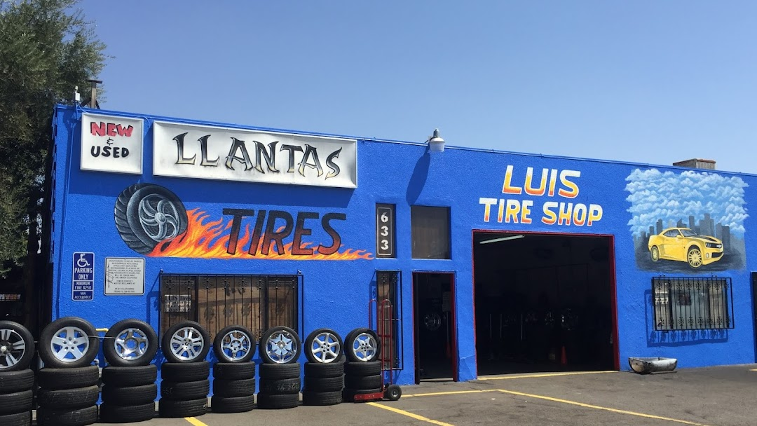 Tire Shops Near Me Open On Sunday >> Luis Tires Used Tire Shop In Fresno