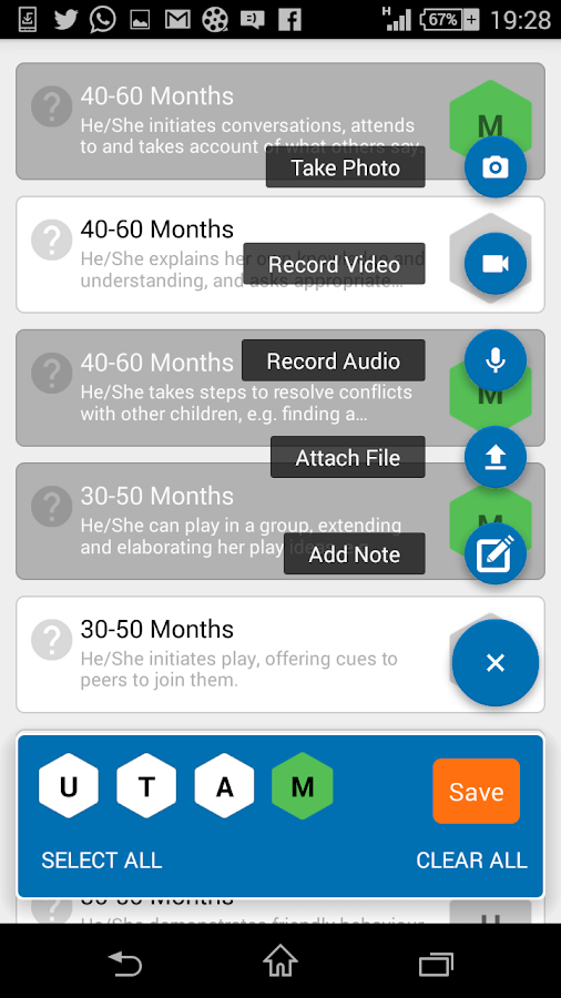 Classroom Monitor teacher app- screenshot