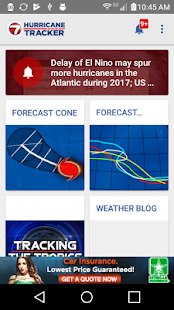 WSVN Hurricane Tracker- screenshot thumbnail