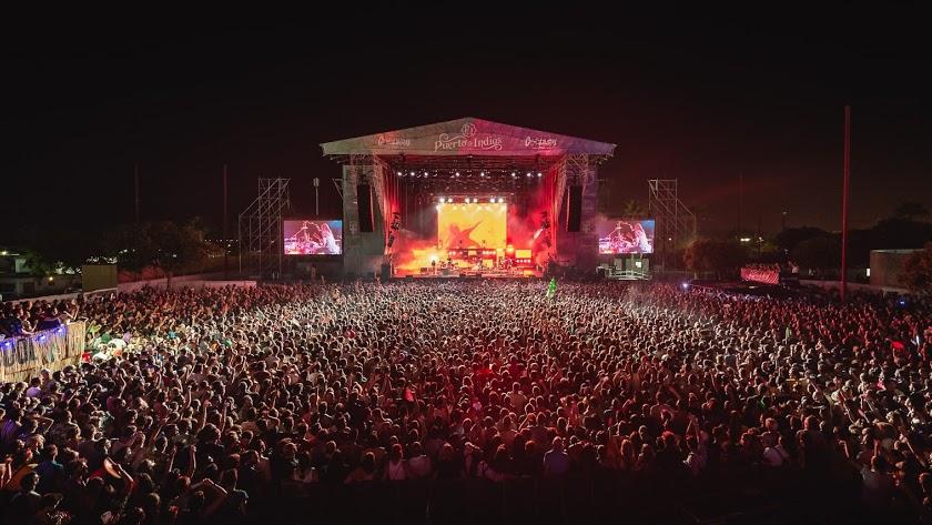 Vista general del Cooltural Fest, en el recinto ferial de la Vega de Acá.