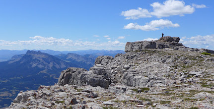 Photo: Lunch spot on the true summit