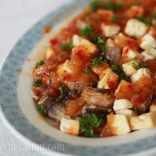 Bangus and Silken Tofu with 3 Sauces