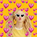 Emoji Background Photo Editor & Emoji Wallpaper 💛 icon