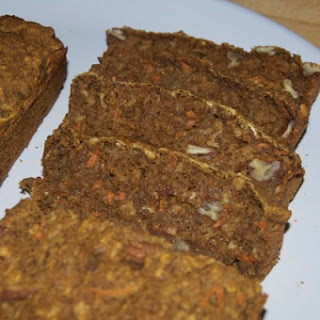 Wholesome Vegan Apple Carrot Pumpkin Bread