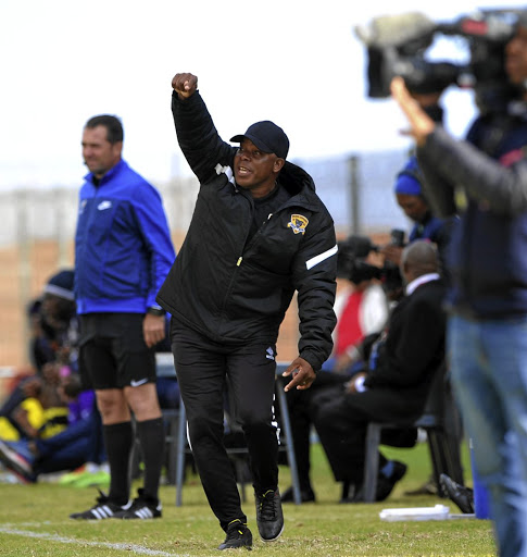 Joel Masutha, coach of Black Leopards.