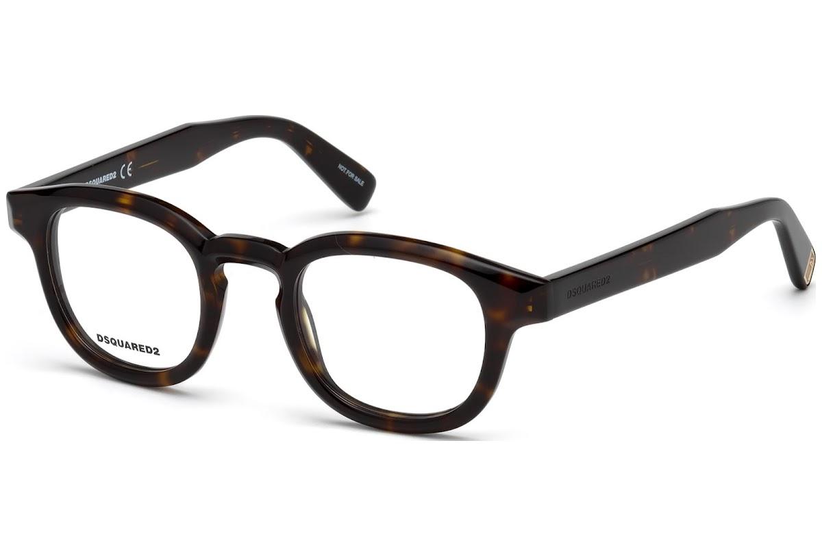 Dsquared2 Brille » DQ5246«, braun, 052 - braun