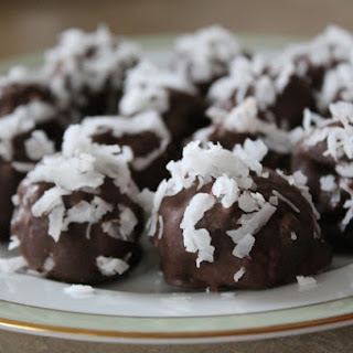 Chocolate Coconut Almond Candy.