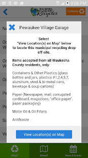 Waukesha County Recycles- screenshot thumbnail