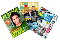 Angebot für Wunschzeitschrift gratis testen! im Supermarkt