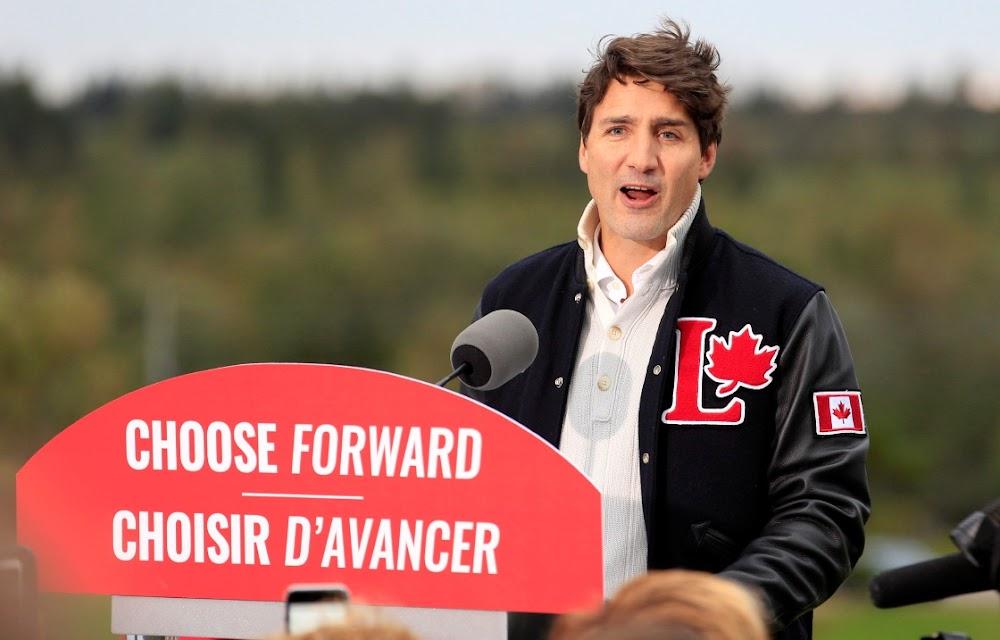 Die Justin Trudeau, Kanada, het meer as eier op sy gesig