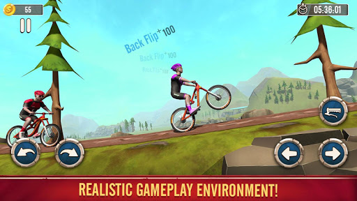 BMX Stunts Bike Rider- Free Cycle Racing Games screenshot 1
